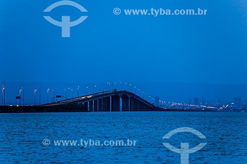 Ponte Fernando Henrique Cardoso (2002) - também conhecida como Ponte da Amizade e da Integração  - Palmas - Tocantins (TO) - Brasil