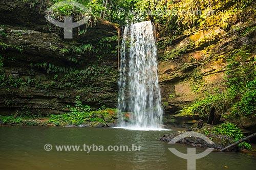 Cascata da Cachoeira do Evilson  - Palmas - Tocantins (TO) - Brasil