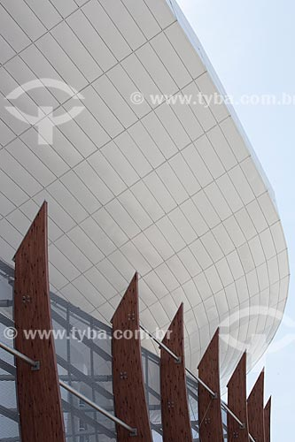 Fachada da Arena Carioca 1 - parte do Parque Olímpico Rio 2016  - Rio de Janeiro - Rio de Janeiro (RJ) - Brasil