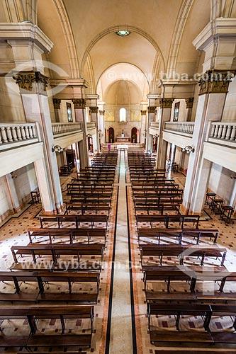 Interior da capela do Colégio Sion  - Rio de Janeiro - Rio de Janeiro (RJ) - Brasil