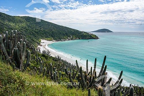 Vista geral da Prainha do Pontal do Atalaia  - Arraial do Cabo - Rio de Janeiro (RJ) - Brasil