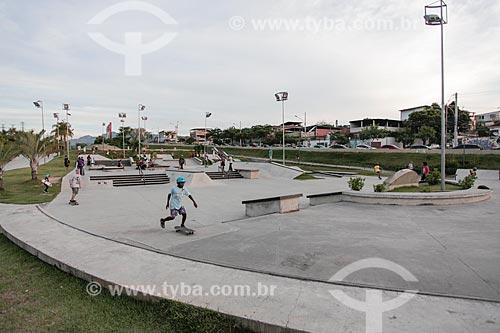 Pista de skate no Parque Madureira  - Rio de Janeiro - Rio de Janeiro (RJ) - Brasil