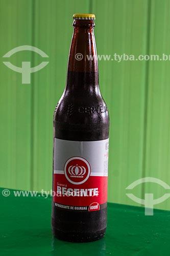 Detalhe de garrafa de refrigerante Regente  - Barcelos - Amazonas (AM) - Brasil