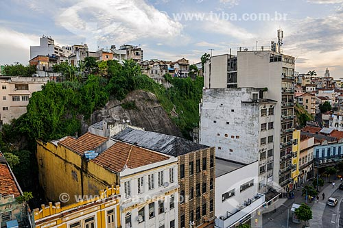 Vista do Morro da Conceição e da Rua Sacadura Cabral  - Rio de Janeiro - Rio de Janeiro (RJ) - Brasil