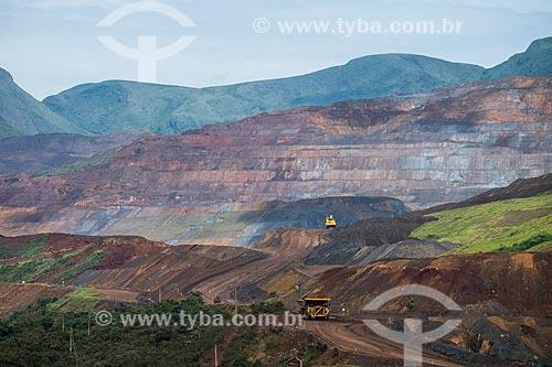 Área da Mina Alegria da Samarco Mineração  - Mariana - Minas Gerais (MG) - Brasil