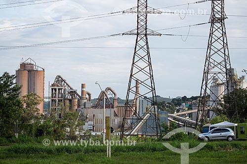 Fábrica de cimento Lafargue Holcim  - Barroso - Minas Gerais (MG) - Brasil