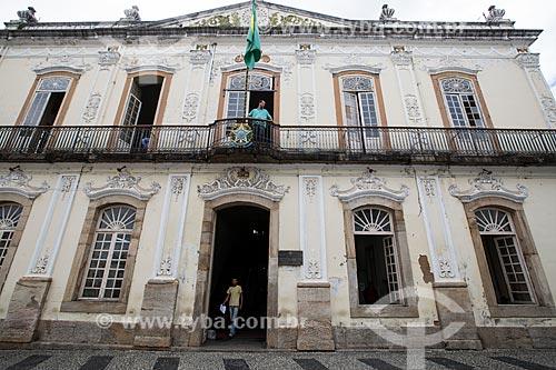 Fachada da Prefeitura de São João del Rei  - São João del Rei - Minas Gerais (MG) - Brasil