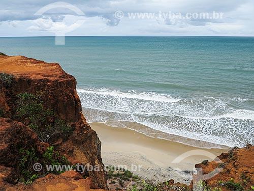 Falésias próximas a Praia das Cacimbinhas  - Tibau do Sul - Rio Grande do Norte (RN) - Brasil