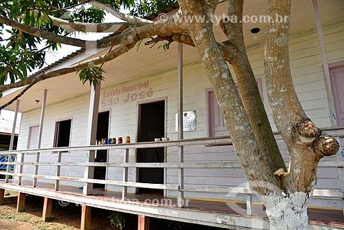 Escola Municipal São José  - Novo Airão - Amazonas (AM) - Brasil