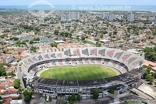 Foto aérea do Estádio José do Rego Maciel (1972) - também conhecido como Estádio do Arruda  - Recife - Pernambuco (PE) - Brasil