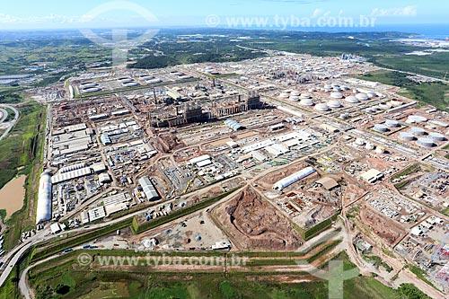 Foto aérea da Refinaria de Abreu e Lima  - Ipojuca - Pernambuco (PE) - Brasil