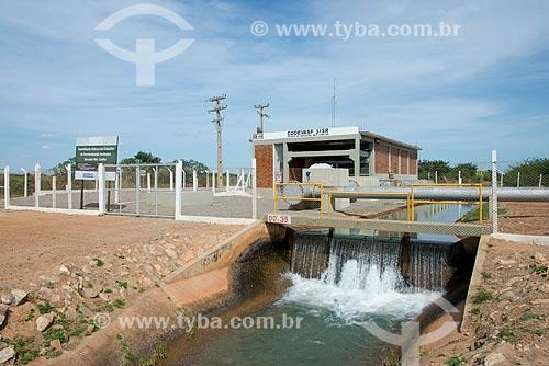 Estação de bombeamento de água do canal principal de irrigação do Projeto Nilo Coelho - Vale do São Francisco  - Petrolina - Pernambuco (PE) - Brasil