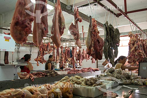 Mercado de carnes  - Juazeiro do Norte - Ceará (CE) - Brasil