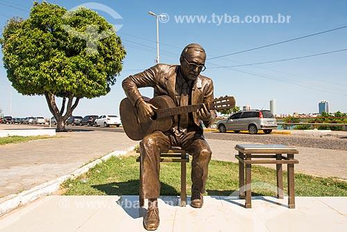 Estátua de João Gilberto  - Juazeiro - Bahia (BA) - Brasil