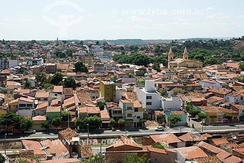 Vista de cima da cidade situada no sopé da Chapada do Araripe  - Crato - Ceará (CE) - Brasil