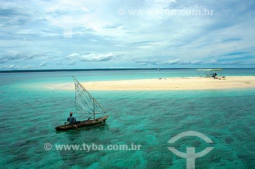Banco de areia no Arquipélago das Quirimbas  - Província de Cabo Delgado - Moçambique