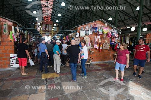 Turistas no Mercado Municipal Adolpho Lisboa (1883)  - Manaus - Amazonas (AM) - Brasil