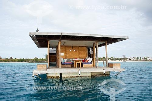 Habitação submarina do Manta Resort Hotel na Ilha de Pemba  - Ilha de Pemba - Tanzânia