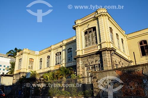 Fachada do Hospital Escola São Francisco de Assis (1870) - também conhecido como Instituto de Atenção à Saúde São Francisco de Assis  - Rio de Janeiro - Rio de Janeiro (RJ) - Brasil