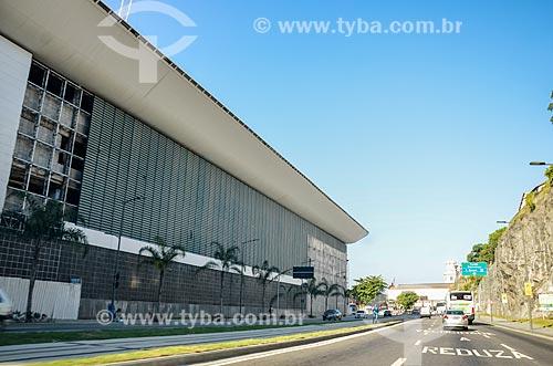 Tráfego na Via Binário do Porto  - Rio de Janeiro - Rio de Janeiro (RJ) - Brasil