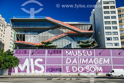 Canteiro de obras do Museu da Imagem e do Som do Rio de Janeiro (MIS)  - Rio de Janeiro - Rio de Janeiro (RJ) - Brasil
