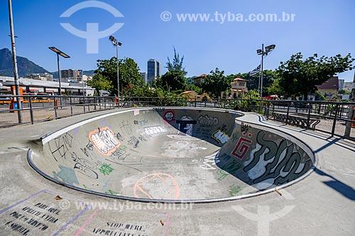 Pista de skate entre as avenidas Lauro Sodré e Venceslau Braz  - Rio de Janeiro - Rio de Janeiro (RJ) - Brasil