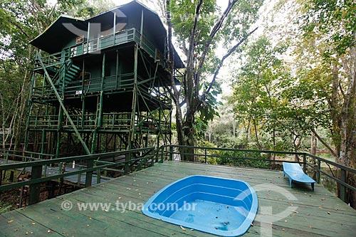Chalé abandonado no Ariau Amazon Towers  - Manaus - Amazonas (AM) - Brasil