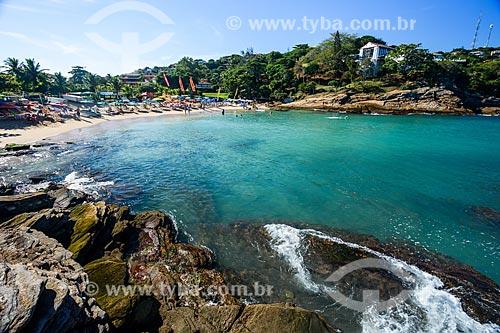 Orla da Praia da Ferradurinha  - Armação dos Búzios - Rio de Janeiro (RJ) - Brasil