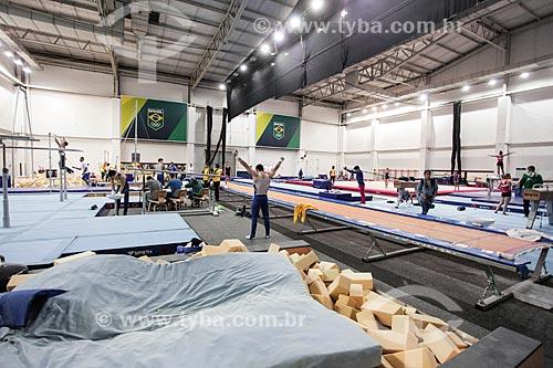 Centro de treinamento de Ginástica Artística na HSBC Arena - parte do Parque Olímpico Rio 2016  - Rio de Janeiro - Rio de Janeiro (RJ) - Brasil