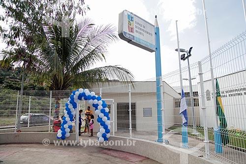Entrada do (EDI) Espaço de Desenvolvimento Infantil Professora Kristina Romolo Kiffer  - Rio de Janeiro - Rio de Janeiro (RJ) - Brasil