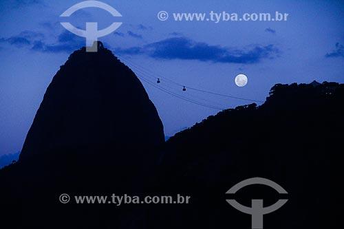 Anoitecer no Pão de Açúcar  - Rio de Janeiro - Rio de Janeiro (RJ) - Brasil
