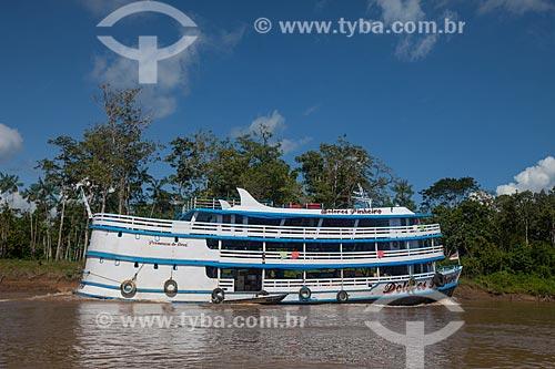 Recreio - embarcação regional - no Rio Madeira  - Novo Aripuanã - Amazonas (AM) - Brasil