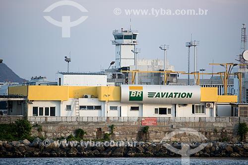 Posto de combustível para aviação no Aeroporto Santos Dumont  - Rio de Janeiro - Rio de Janeiro (RJ) - Brasil