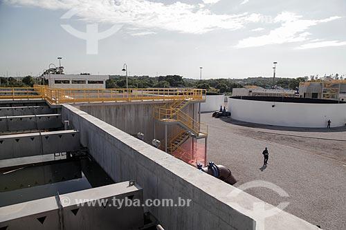 Estação de Tratamento de Esgoto Constantino Arruda Pessoa da Empresa Foz - concessionária de serviços de tratamento de esgoto  - Rio de Janeiro - Rio de Janeiro (RJ) - Brasil