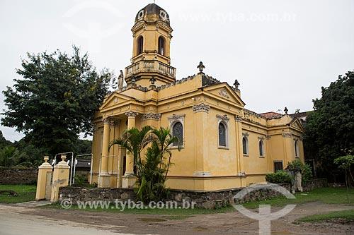 Fachada da Igreja de Nossa Senhora dos Remédios (1892) no Núcleo Rodrigues Caldas - antiga Colônia Juliano Moreira  - Rio de Janeiro - Rio de Janeiro (RJ) - Brasil