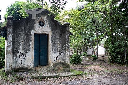 Capela no Núcleo Rodrigues Caldas na antiga Colônia Juliano Moreira  - Rio de Janeiro - Rio de Janeiro (RJ) - Brasil