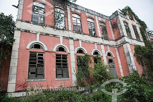 Pavilhão 1 do Núcleo Rodrigues Caldas na antiga Colônia Juliano Moreira  - Rio de Janeiro - Rio de Janeiro (RJ) - Brasil