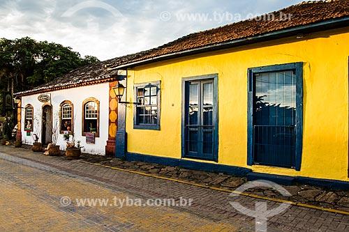 Casarios no centro histórico de Santo Antonio de Lisboa  - Florianópolis - Santa Catarina (SC) - Brasil