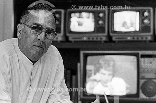 Armando Nogueira - Diretor de jornalismo da Rede Globo  - Rio de Janeiro - Rio de Janeiro (RJ) - Brasil