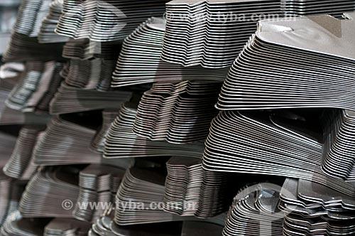 Detalhe de peças da indústria automobilística  - Gravataí - Rio Grande do Sul (RS) - Brasil
