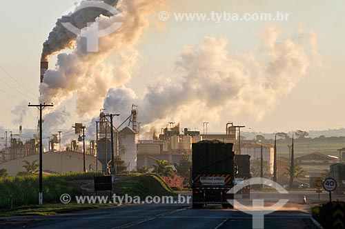 Vista geral da Usina Nardini  - Vista Alegre do Alto - São Paulo (SP) - Brasil