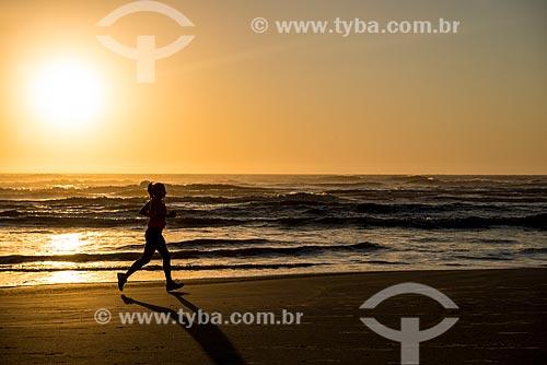 Nascer do sol na Praia de Atlântida  - Xangri-lá - Rio Grande do Sul (RS) - Brasil
