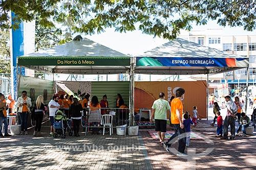 Ação social do SESC/SENAC - B.A.S.E. S (Base de Ação Social e Educativa) - Praça Olímpica Luís de Camões  - Teresópolis - Rio de Janeiro (RJ) - Brasil