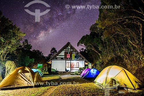 Abrigo 4 - também conhecido como Abrigo do Sino - durante a trilha da Pedra do Sino - Parque Nacional da Serra dos Órgãos  - Teresópolis - Rio de Janeiro (RJ) - Brasil