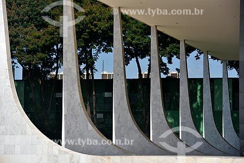 Supremo Tribunal Federal - sede do Poder Judiciário ao fundo  - Brasília - Distrito Federal (DF) - Brasil