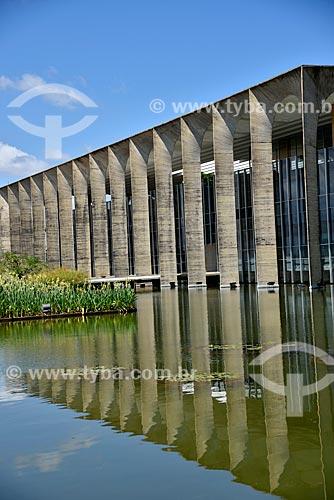Fachada do Palácio do Itamaraty  - Brasília - Distrito Federal (DF) - Brasil