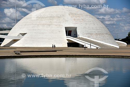Museu Nacional Honestino Guimarães (2006) - parte do Complexo Cultural da República João Herculino  - Brasília - Distrito Federal (DF) - Brasil