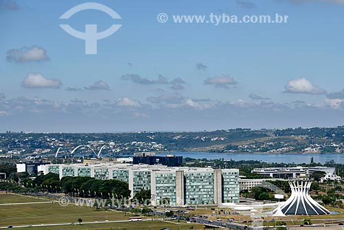 Vista panorâmica de Brasília  - Brasília - Distrito Federal (DF) - Brasil