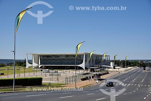 Palácio do Planalto - sede do governo do Brasil  - Brasília - Distrito Federal (DF) - Brasil