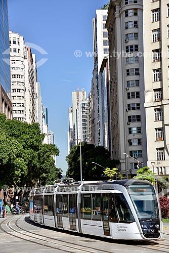 Veículo Leve Sobre Trilhos (VLT) - Orla Prefeito Luiz Paulo Conde (2016)  - Rio de Janeiro - Rio de Janeiro (RJ) - Brasil